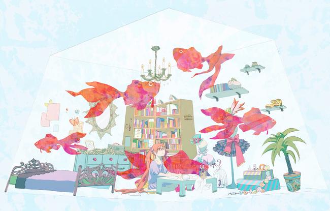 金鱼卡通图片