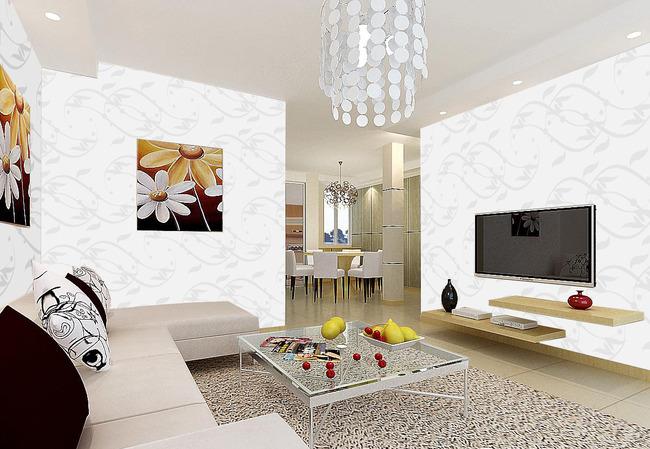 简约大气欧式风格墙画壁纸