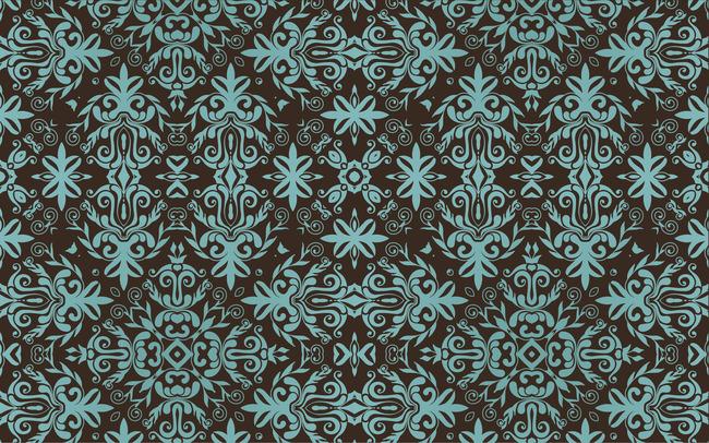 欧式花纹壁纸模板下载(图片编号:11498642)