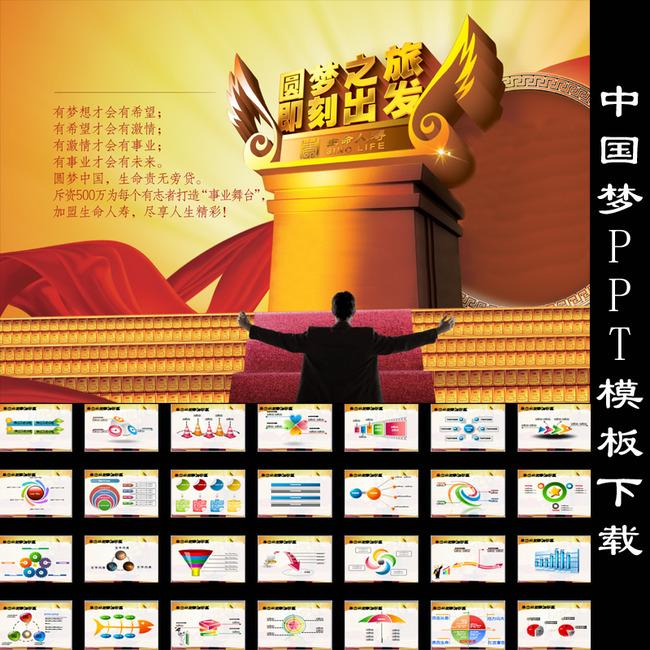 办公|ppt模板 ppt模板 教育|培训|科研ppt > 中国梦学习动态ppt模板