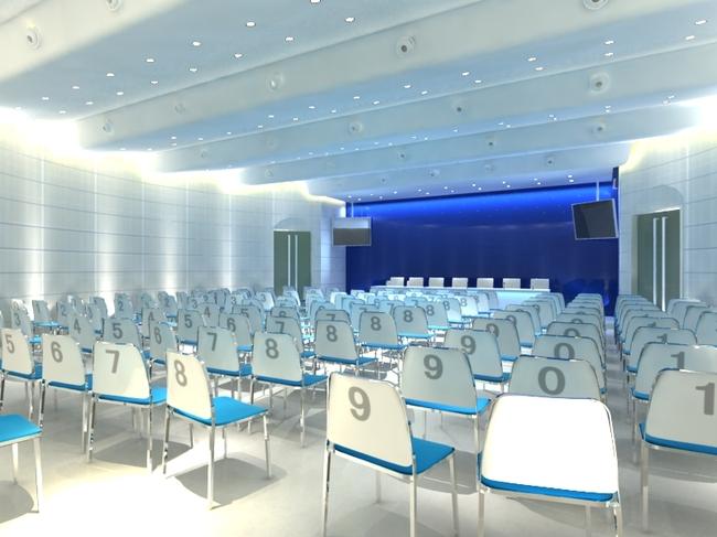 多媒体教室 学校教室素材下载 学校教室模板下载 学校教室 格栅灯