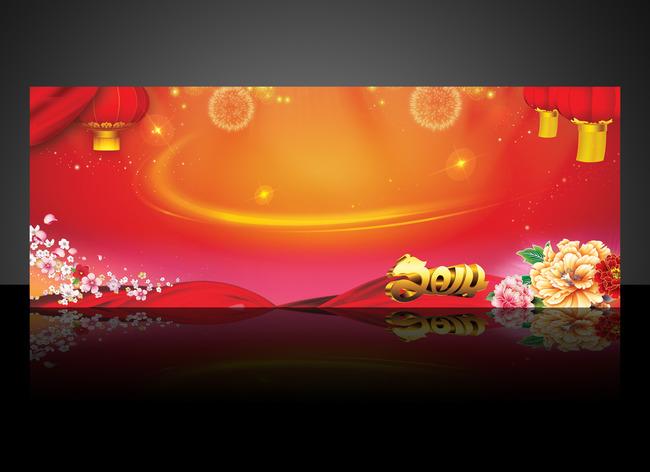 2014马年春节新年背景