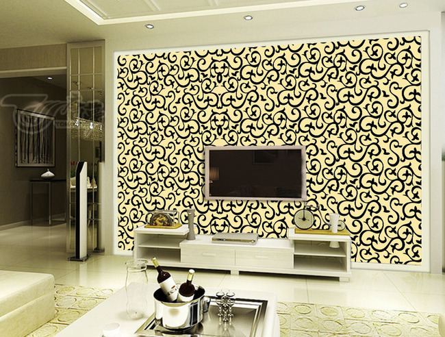 客厅电视背景墙 客厅壁画
