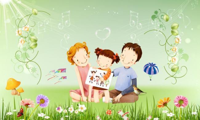 卡通温馨家庭图片模板下载 11556849 其他psd素材图片