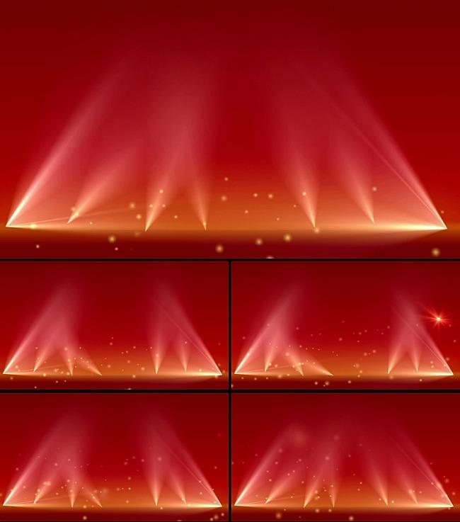 视频素材 动态视频素材 动态 特效 背景视频素材 > 节日红色光束视频
