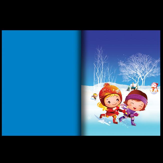 儿童类读物书籍封面模板