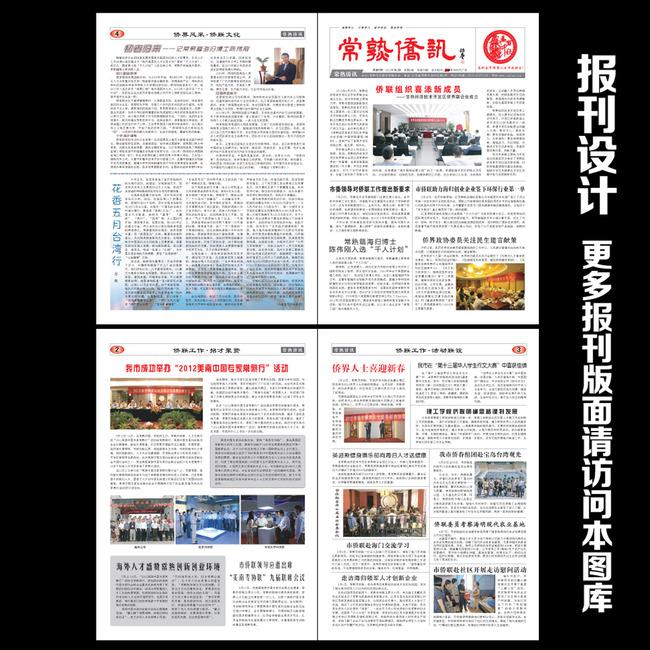 【ai】政府报纸版面设计图片