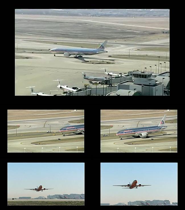 高清飞机起飞视频素材