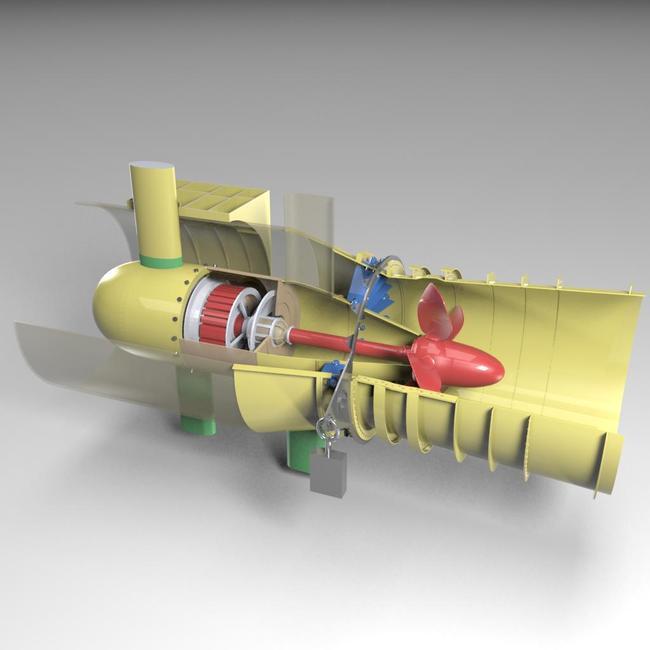 水轮发电机65kw10极72槽接线图