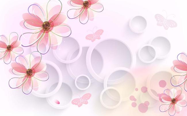 桃花林桃花图片桃花背景桃花花瓣手绘桃花