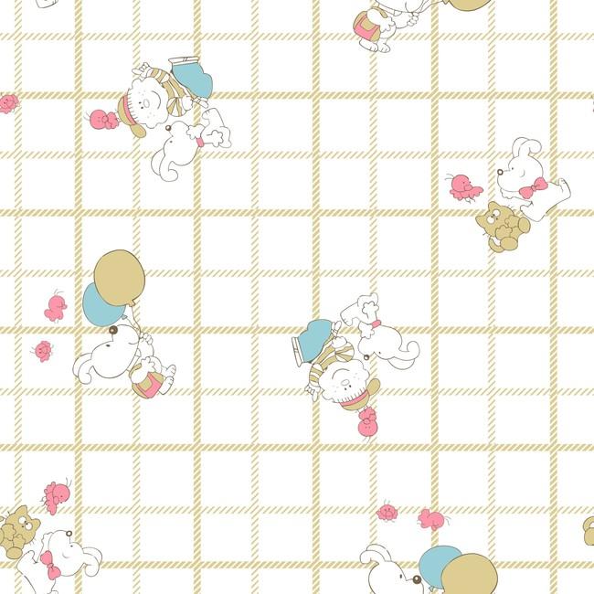 卡通动物格子模板下载 卡通动物格子图片下载卡通动物底纹 格子匹装印