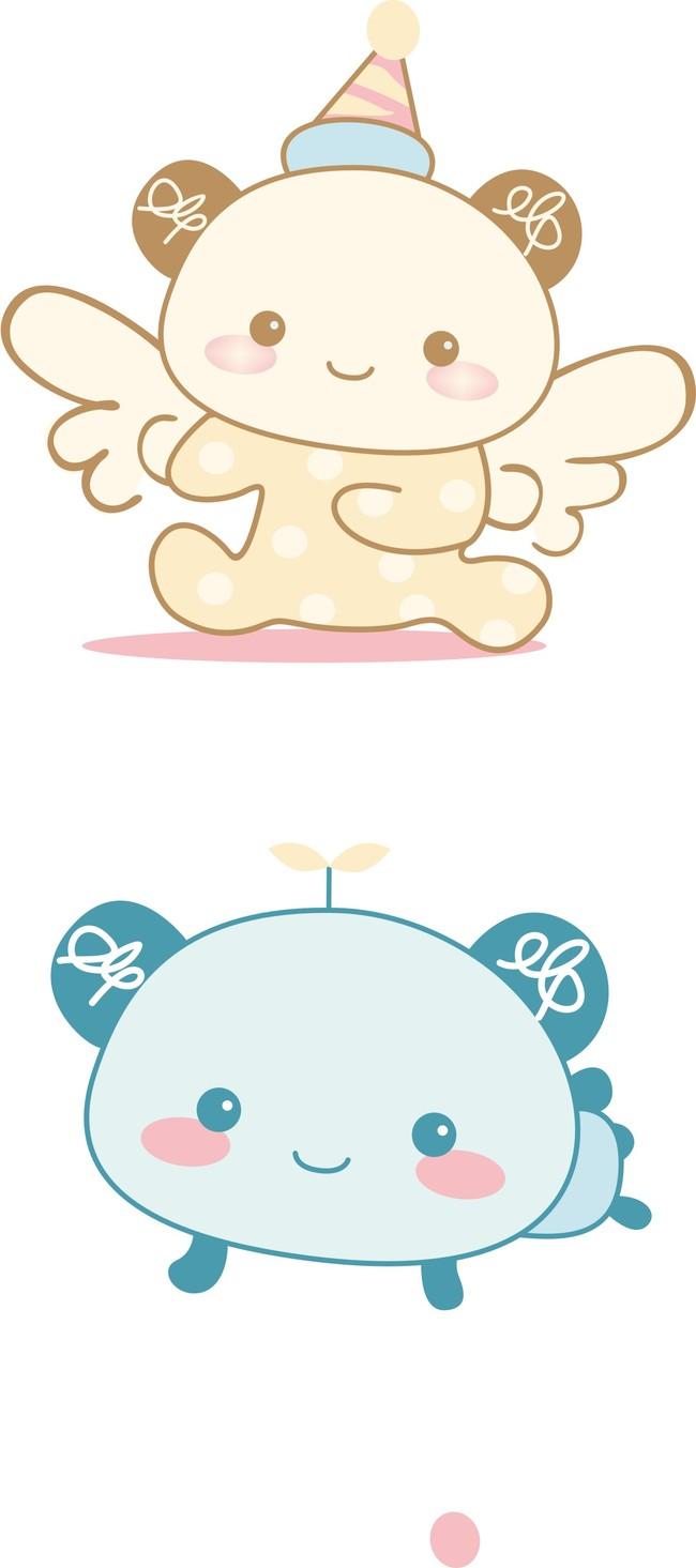 卡通头像可爱萌动物_画画大全