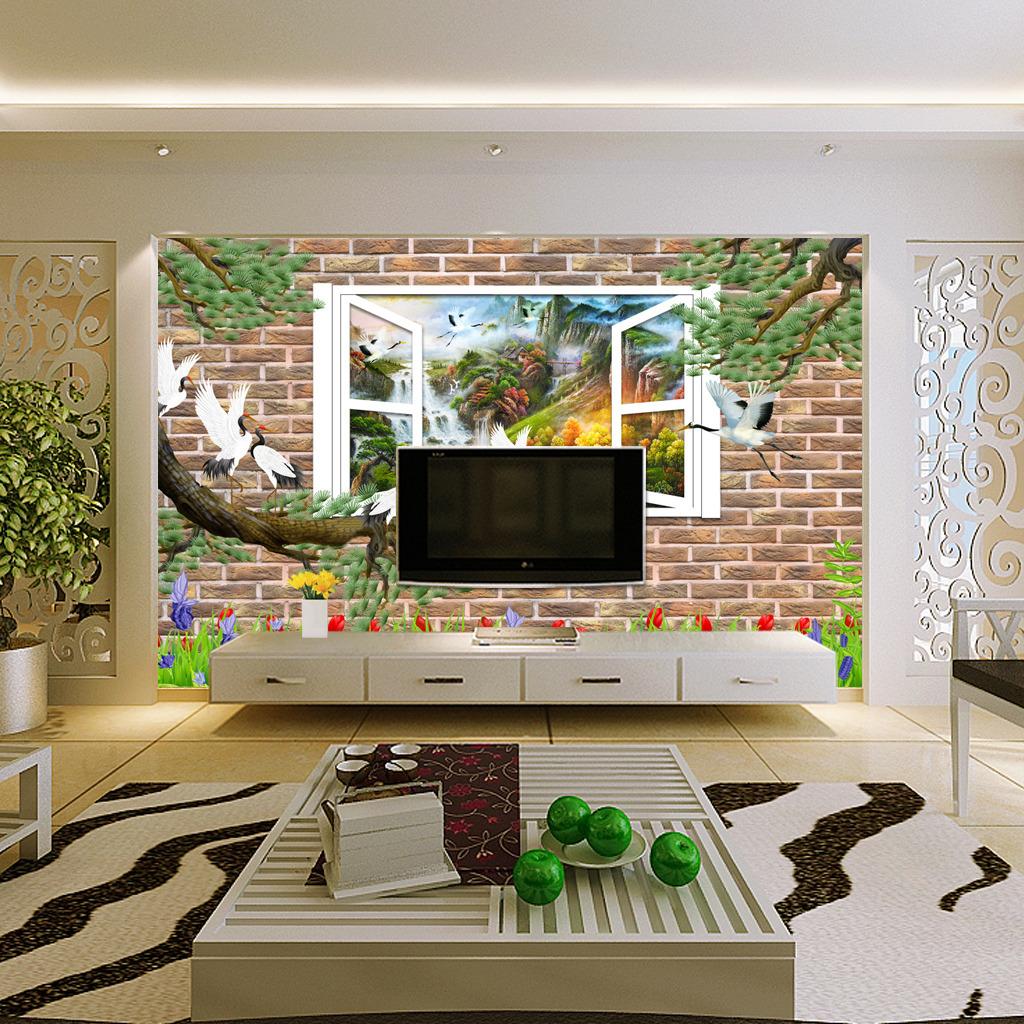 年画 字画 中式 室内 家居 家庭 客厅 装饰画 装修画 壁画 墙画 电视