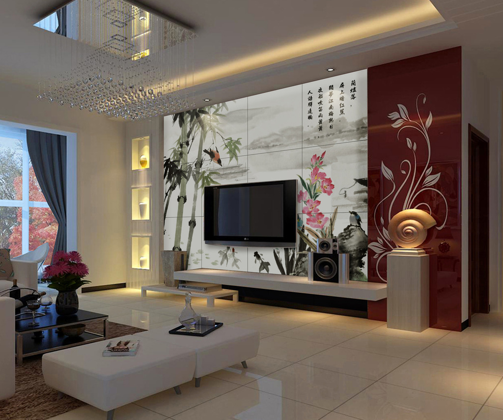 室内装饰背景墙模板下载(图片编号:11644385)