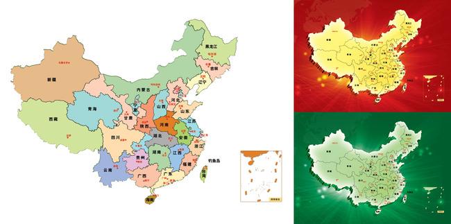 中国地图模板下载(图片编号:11644592)