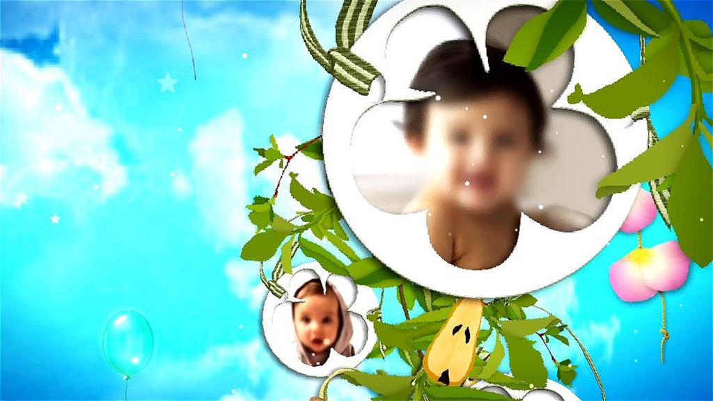 宝宝成长相册视频模板下载(图片编号:11645647)
