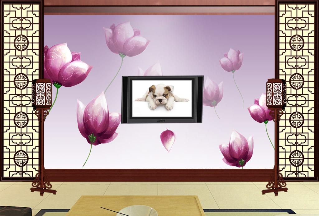 客厅沙发立面手绘