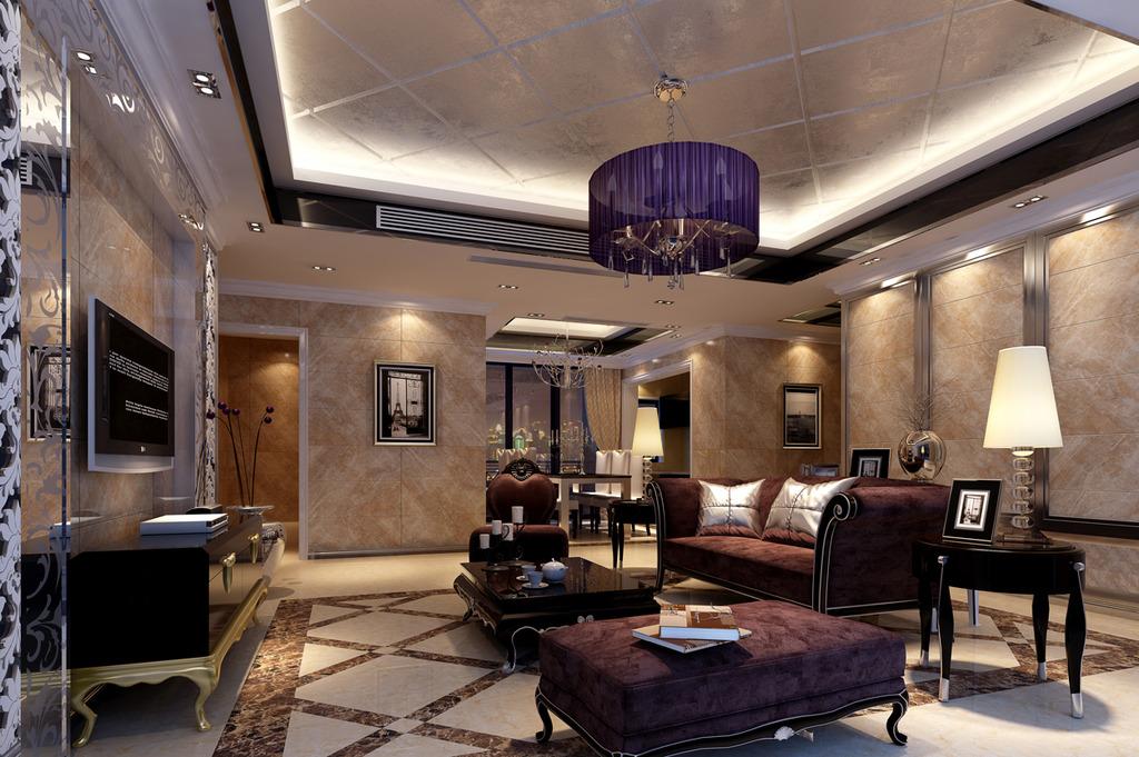 客厅室内设计效果图
