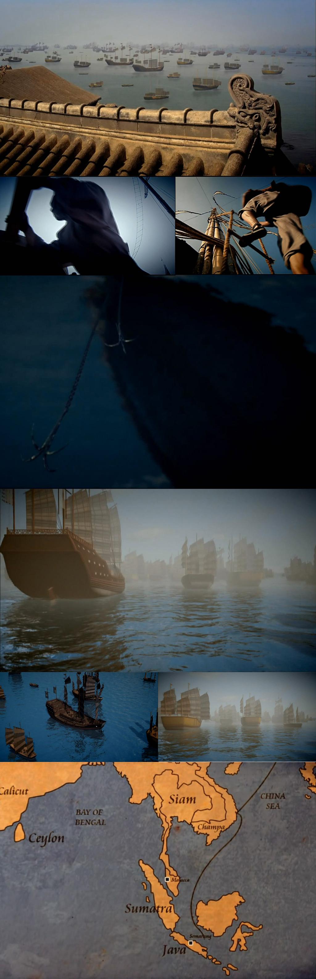 中国古代帆船海上丝绸之路