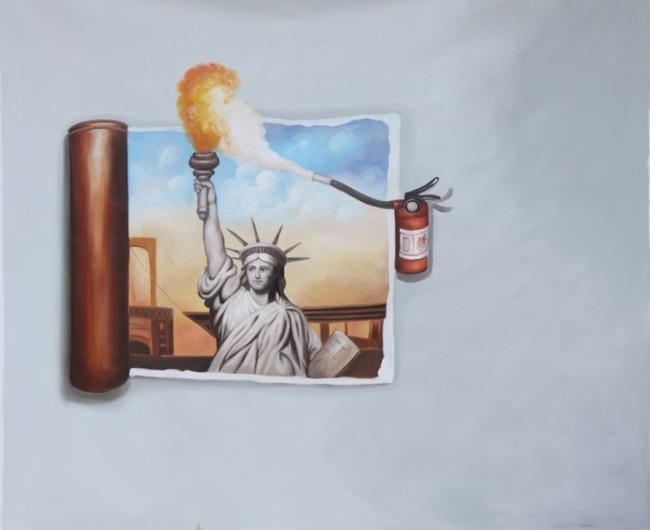 3d手绘效果油画高清喷绘3d手绘油画