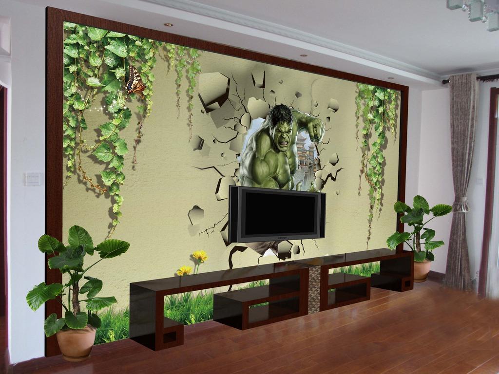 背景墙|装饰画 电视背景墙 电视背景墙 > 3d人物电视墙背景图片  下一