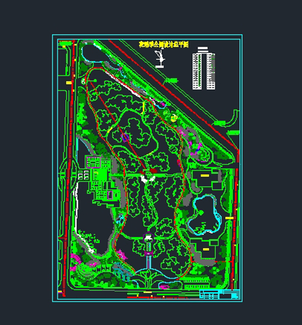 花语季公园总平面图