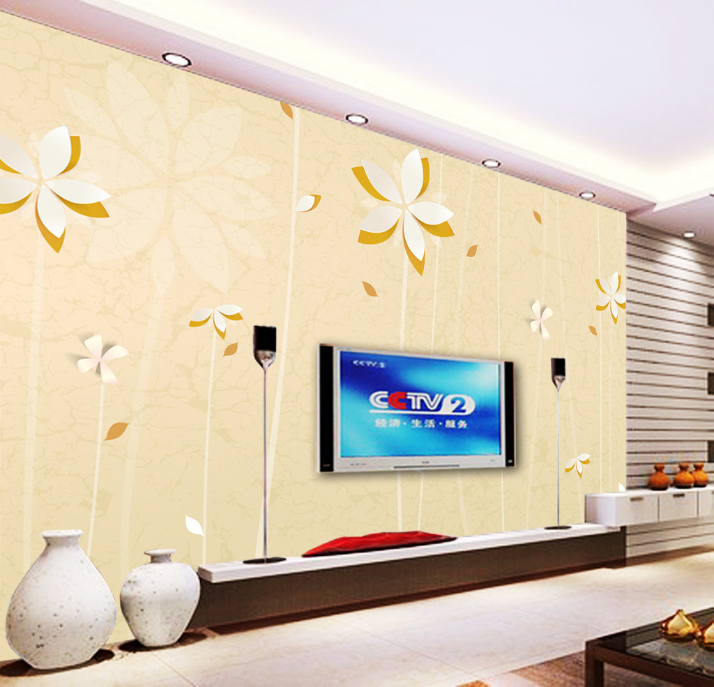 装饰画 客厅电视墙 装饰图片 淡雅 个性 墙画 背景 墙画 电视墙 欧式
