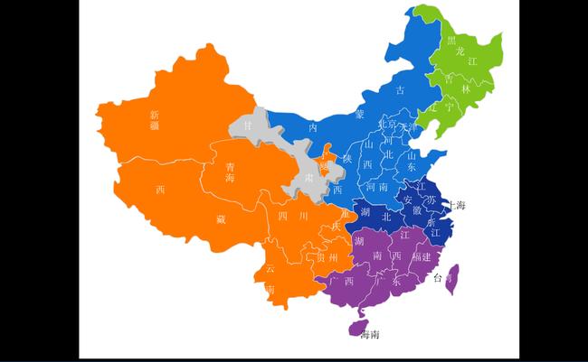 flash中国地图动画源文件模板