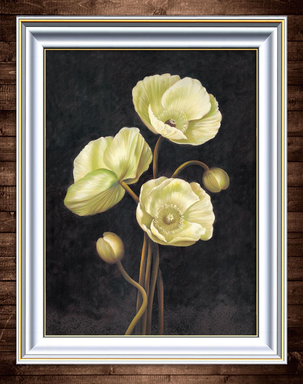 花卉写实风格油画