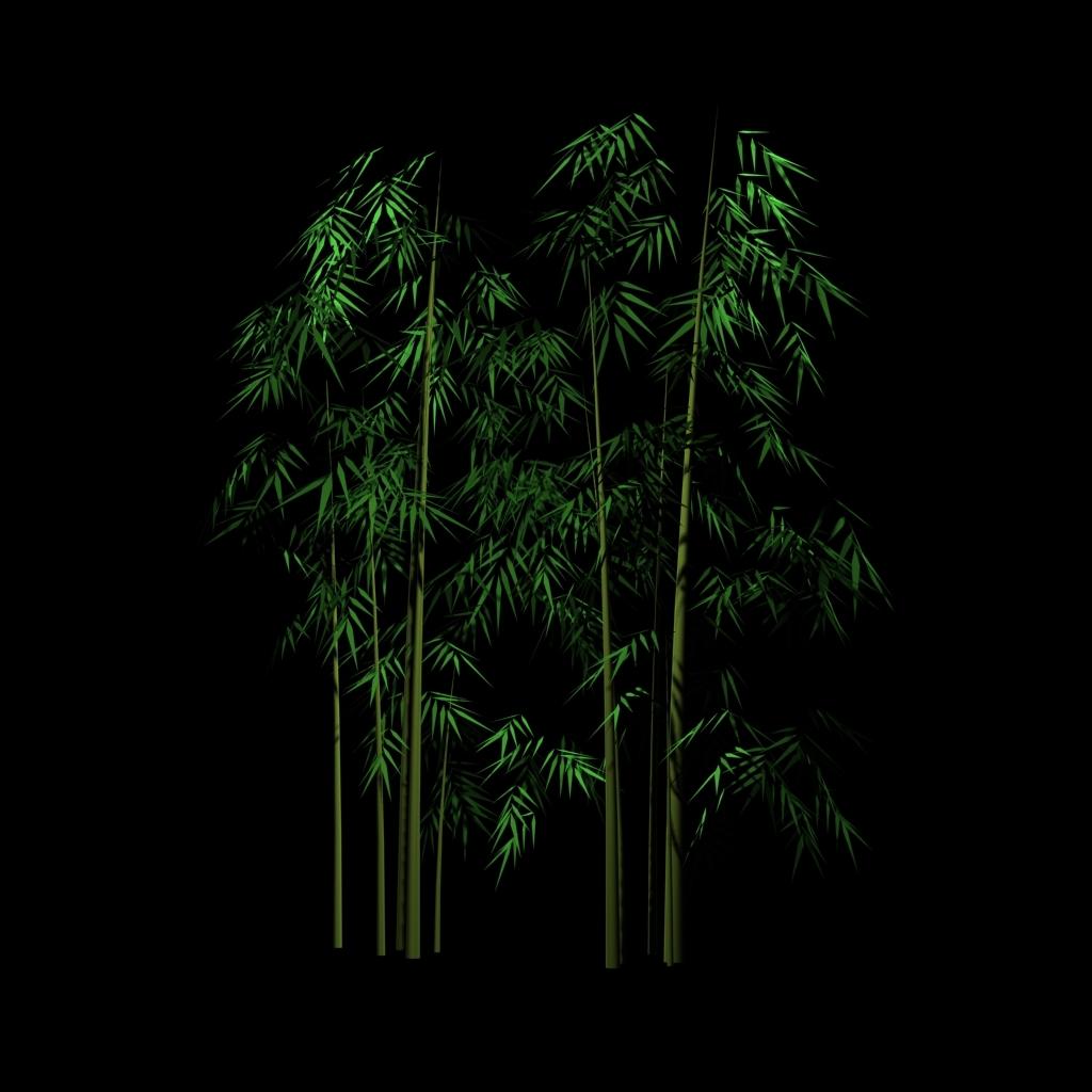 竹子模型3dmax源文件图片