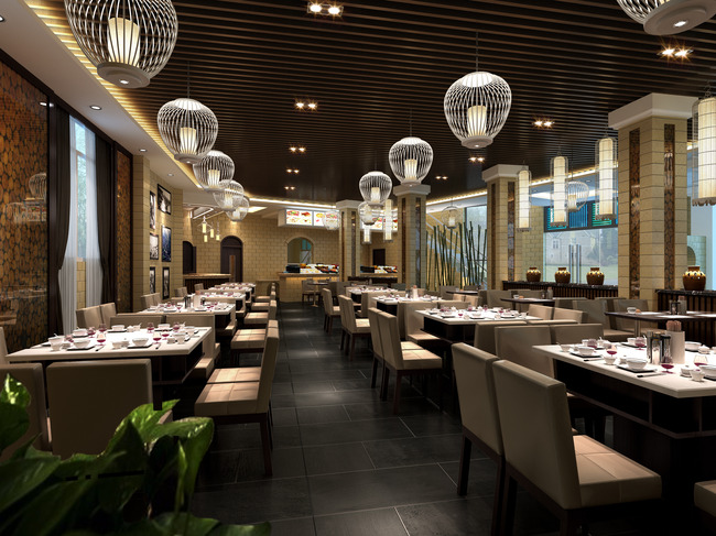 餐厅效果图模板下载 餐厅效果图图片下载