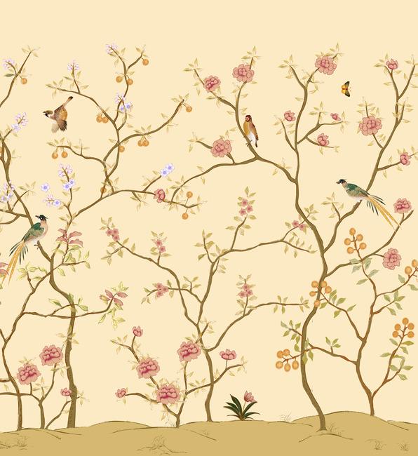 手绘花鸟壁纸