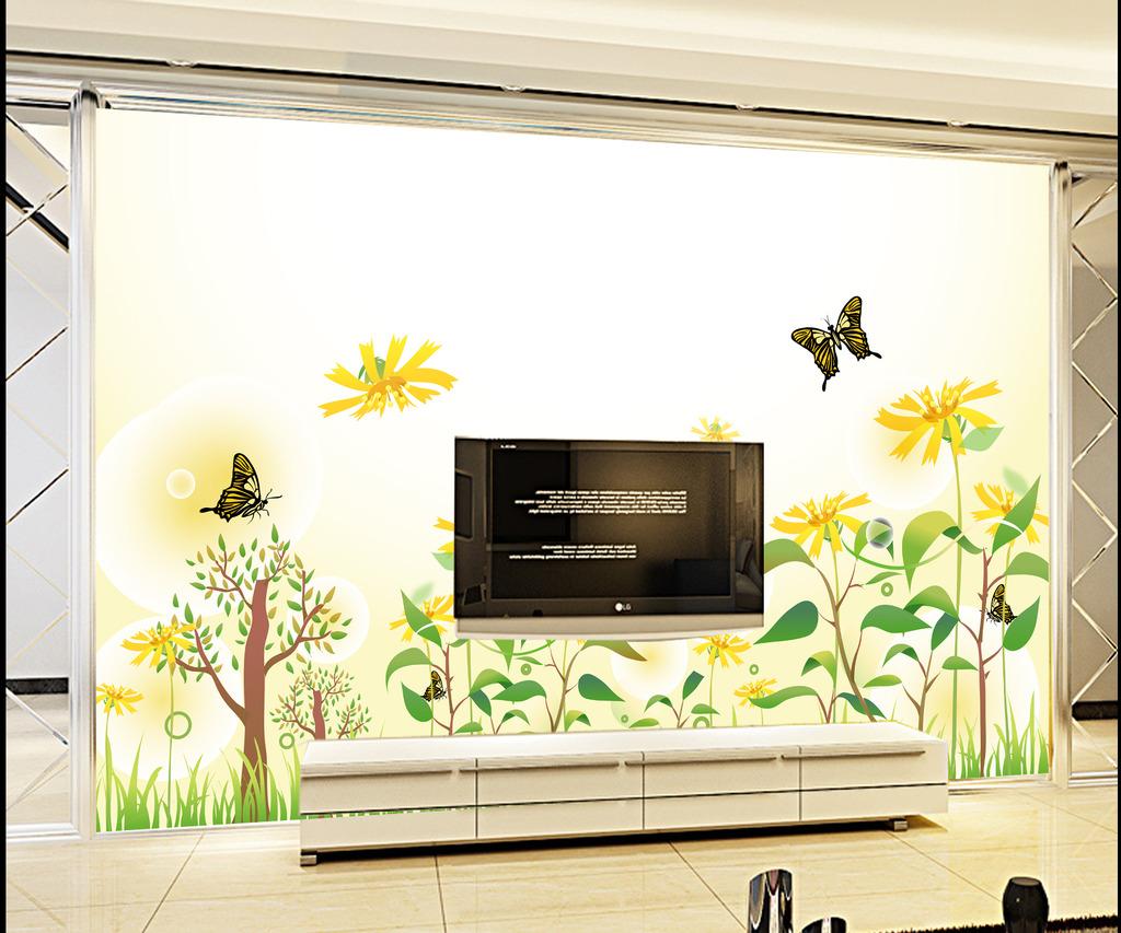 电视背景墙 背景墙 装修背景墙效果图 客厅电视背景墙 壁画 装饰画