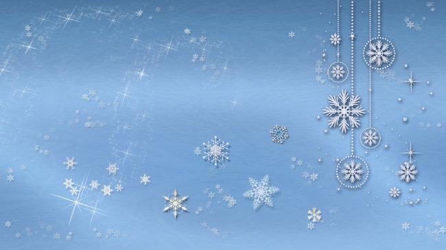 淡蓝色雪花背景模板下载(图片编号:11790677)__背景_.