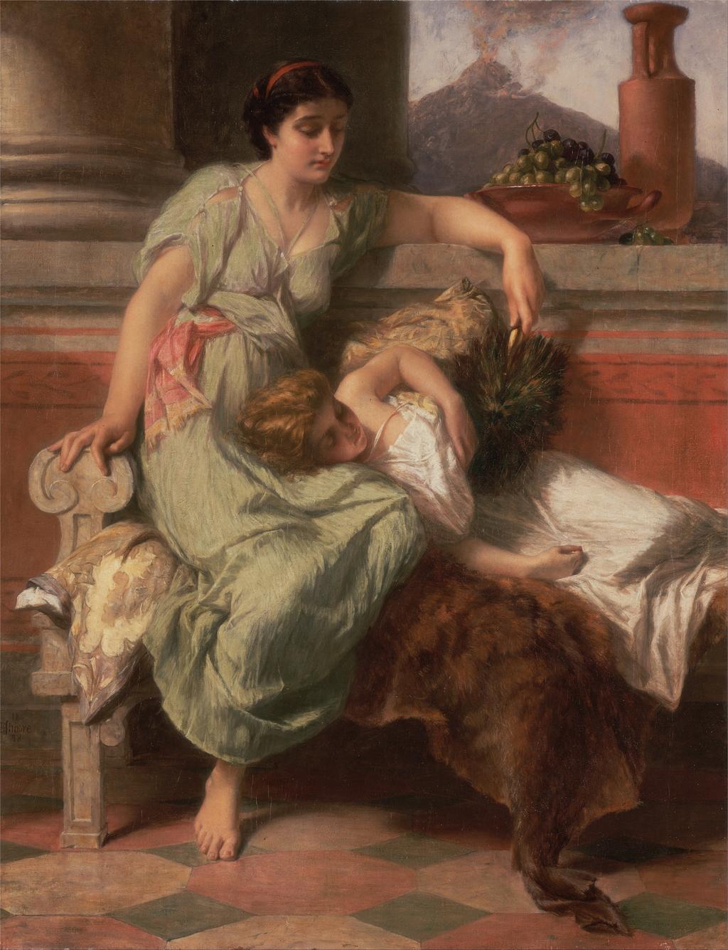 欧洲古典人物油画