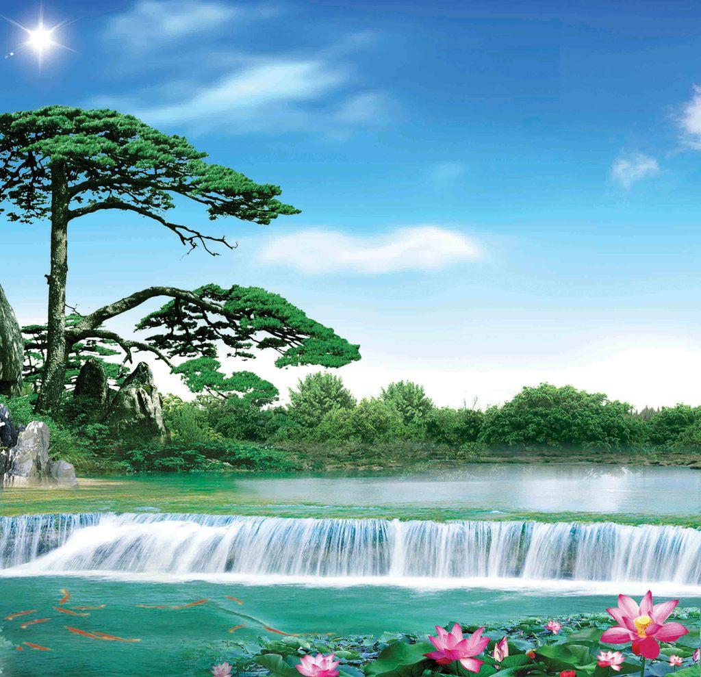 自然风景图片模板下载