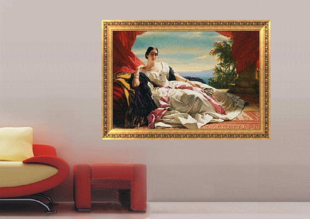 高清古典人物油画