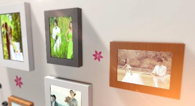 婚庆婚礼电子相册ae模板图片