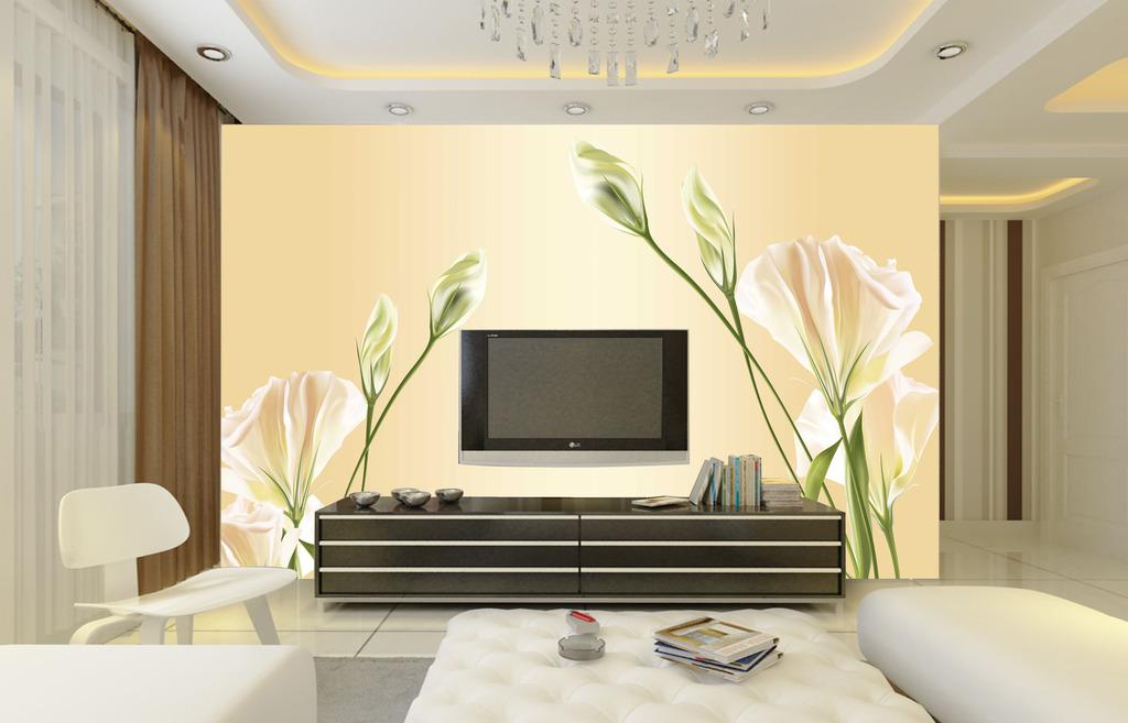 欧式风格壁纸墙纸客厅电视背景墙图片
