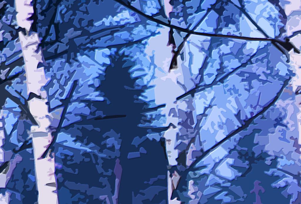 列冬季装饰画背景墙