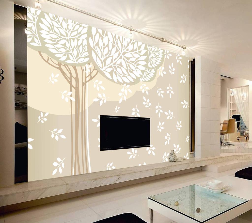 树客厅电视背景墙