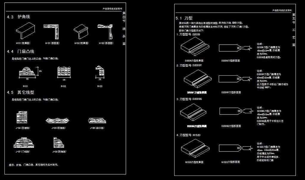 实木门产品说明书模板下载(图片编号:11822097)_家具