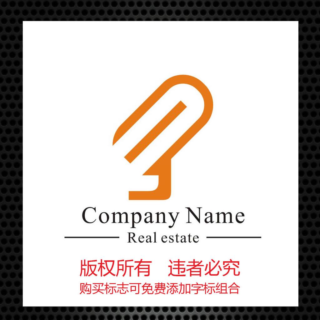字母mj话筒标志设计模板下载图片