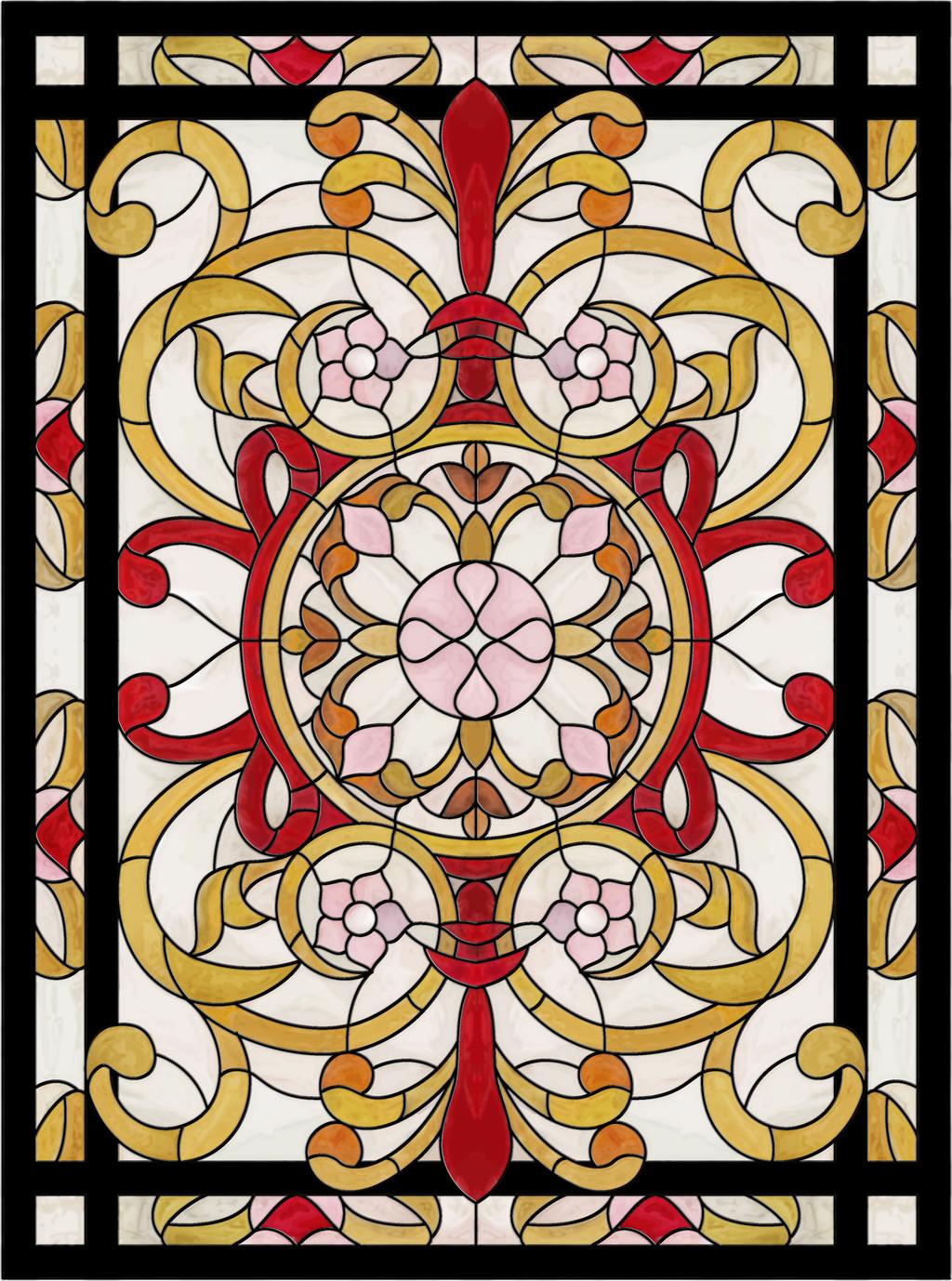 隔断 教堂玻璃图案 教堂天花 教堂玻璃窗 教堂装饰图案 窗花