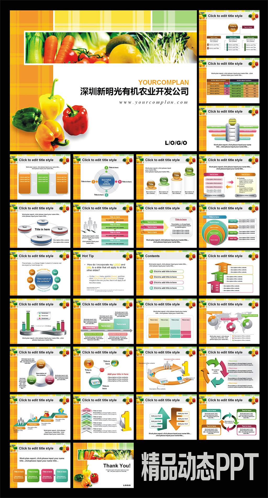 销售分析ppt模板分享