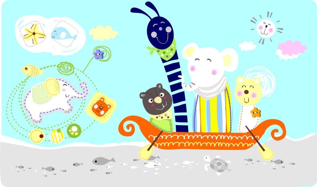 卡通动物图案模板下载(图片编号:11841562)