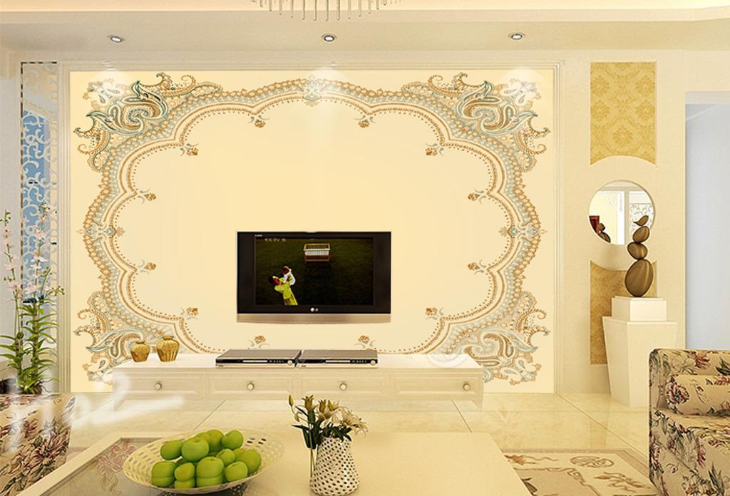 客厅电视墙 沙发背景墙 客厅壁画 大厅壁画 墙纸 壁画 酒店壁画 彩雕