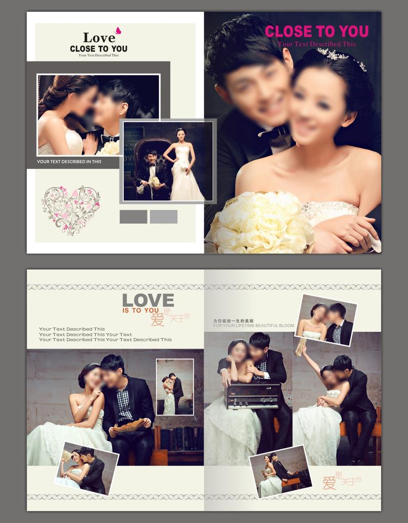婚纱相册模板模板下载(图片编号:11846804)
