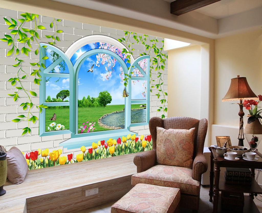 3d背景墙室内装饰壁画