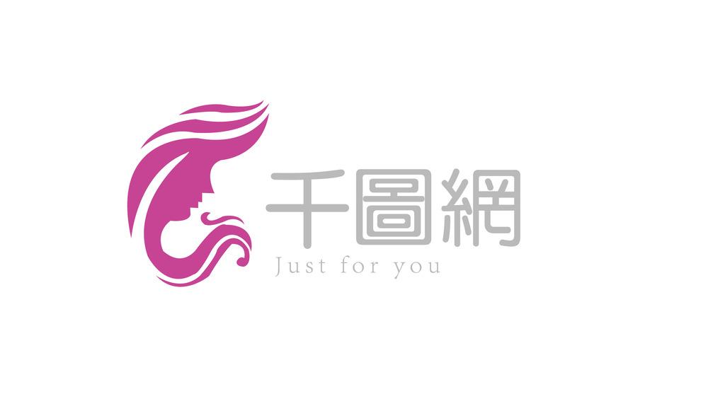 logo标志美女 图标